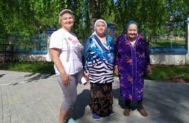 В храме Орла-городка встречали гостей из общества инвалидов